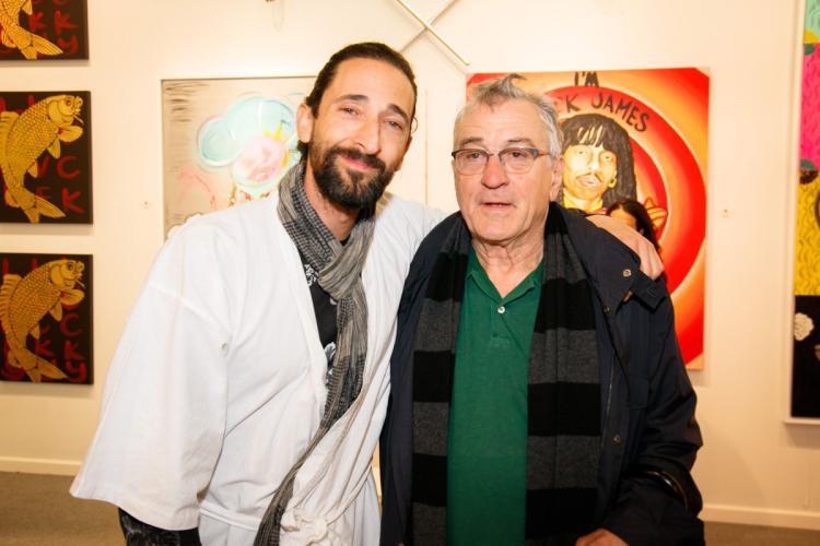 Adrien Brody and Robert DeNiro