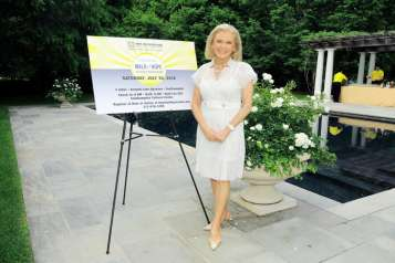 Hope for Depression Research Foundation Founder & President Audrey Gruss Hosts Kick Off Party for Walk of Hope