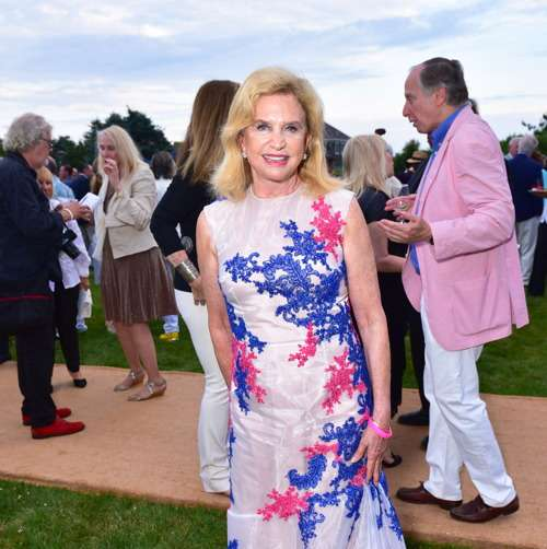 Carolyn Maloney== Southampton Animal Shelter Foundation's 7th Annual Unconditional Love Dinner Dance 2016== Private Residence, Southampton, NY== July 16, 2016== ©Patrick McMullan== Photo - Sean Zanni/PMC== ==