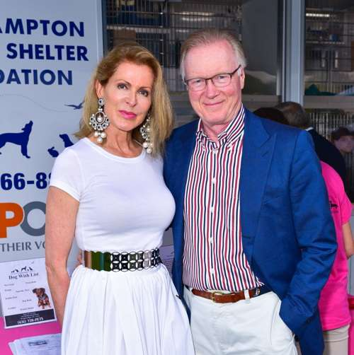 Ellen Ward Scarborough, Chuck Scarborough== Southampton Animal Shelter Foundation's 7th Annual Unconditional Love Dinner Dance 2016== Private Residence, Southampton, NY== July 16, 2016== ©Patrick McMullan== Photo - Sean Zanni/PMC== ==