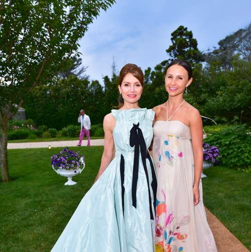 Jean Shafiroff, Georgina Bloomberg== Southampton Animal Shelter Foundation's 7th Annual Unconditional Love Dinner Dance 2016== Private Residence, Southampton, NY== July 16, 2016== ©Patrick McMullan== Photo - Sean Zanni/PMC== ==