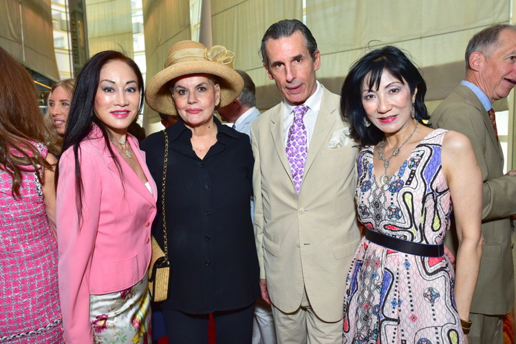 Lucia Hwong Gordon, Ann Rapp, Roy Kean, Patricia Shiah==Bastille Day Party Hosted by Jean Shafiroff==Le Cirque, NYC==July 14, 2016==©Patrick McMullan==Photo - Sean Zanni/PMC====