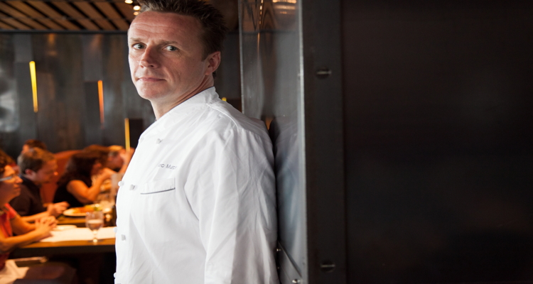 Marc Murpy, executive chef and owner of Benchmarc, which oversees Landmarc and Ditch Plains