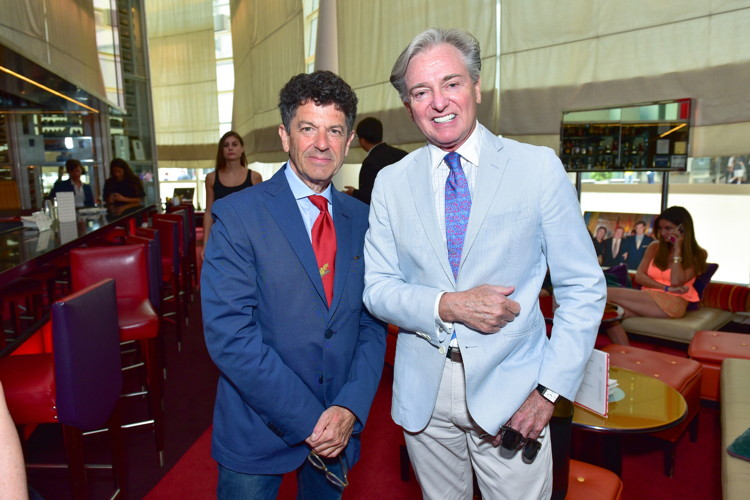 Michael Gross, Geoffrey Bradfield==Bastille Day Party Hosted by Jean Shafiroff==Le Cirque, NYC==July 14, 2016==©Patrick McMullan==Photo - Sean Zanni/PMC====