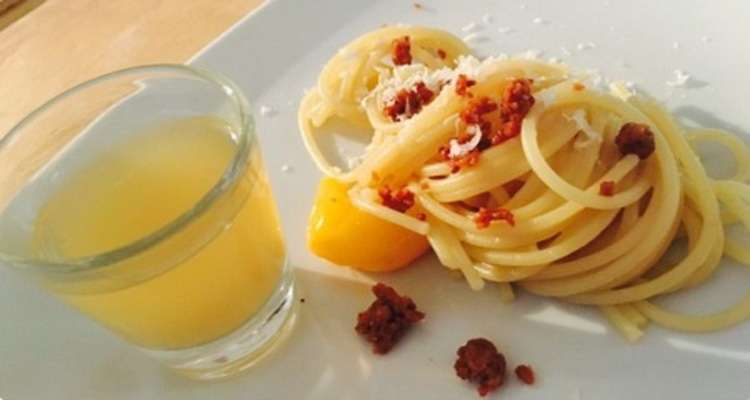 "The ""Quasi Carbonara"" created by Mamo's Massimo Sola"
