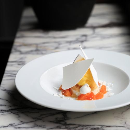 A dessert Vacherin