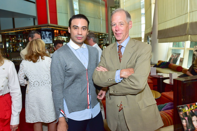 Victor De Souza, Kevin Roche==Bastille Day Party Hosted by Jean Shafiroff==Le Cirque, NYC==July 14, 2016==©Patrick McMullan==Photo - Sean Zanni/PMC====