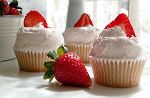 Strawberry Ciupcakes