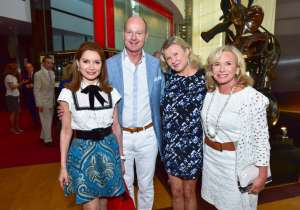 Jean Shafiroff, Prince Dimitri of Yugoslavia, Lady Liliana Cavendish, Sharon Bush at Bastille Day Party Hosted by Jean Shafiroff at Le Cirque, Patrick Mullan== Photo - Sean Zanni/PMC== ==
