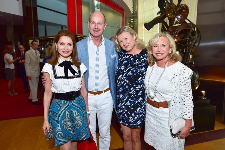 Jean Shafiroff, Prince Dimitri of Yugoslavia, Lady Liliana Cavendish, Sharon Bush at Bastille Day Party Hosted by Jean Shafiroff at Le Cirque, Patrick Mullan== Photo - Sean Zanni/PMC== ==