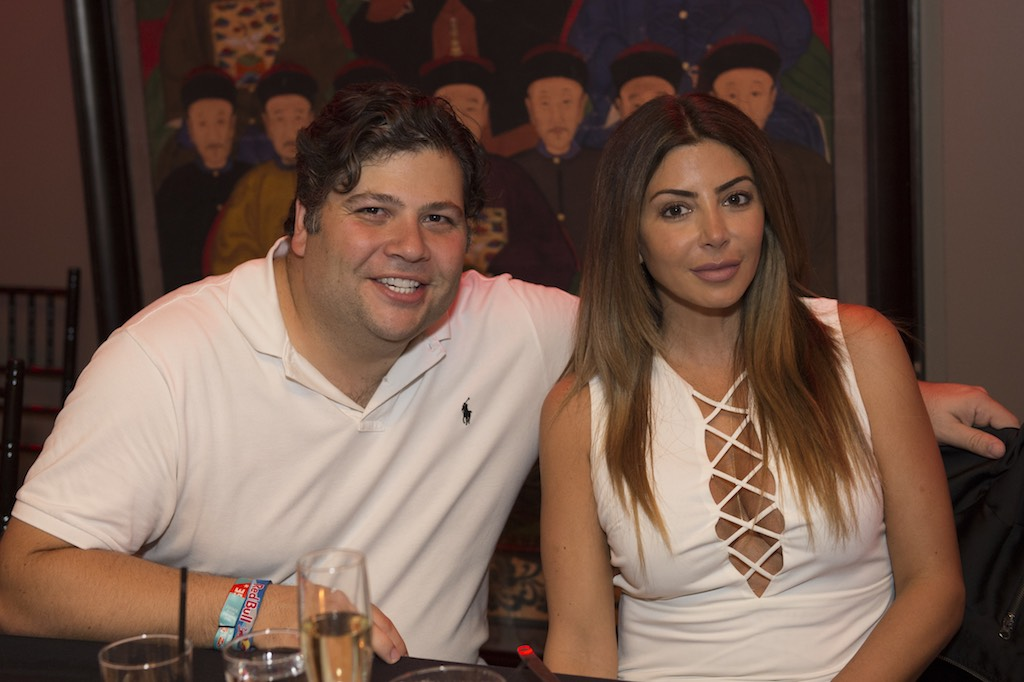 Richard Melman and Larsa Pippen