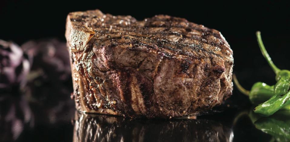 The Bone-In Filet at N9ne Steakhouse