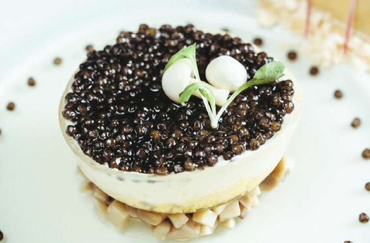 Royal Ossetra Caviar at Twist by Pierre Gagnaire