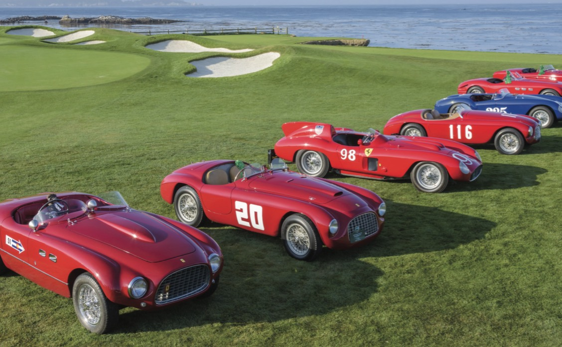 gearing up for the pebble beach concours d elegance