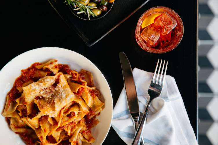 Delicious pappardelle