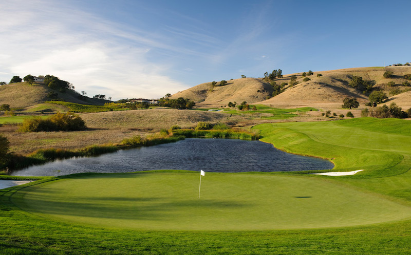 The golf course at the Rosewood CordeValle.