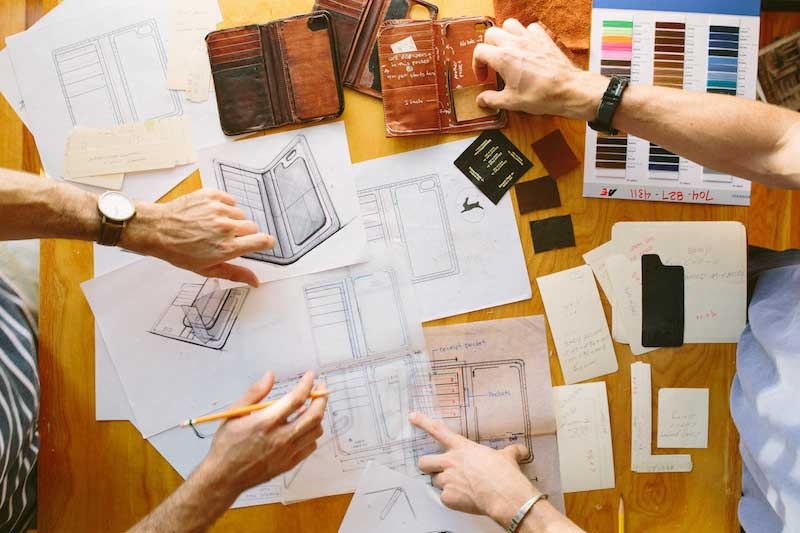 A look at the craftsmanship that goes into making the Edward Field wallet