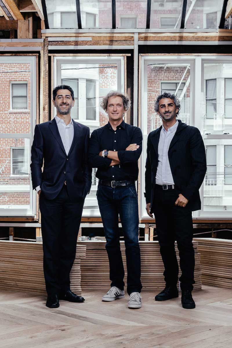 Steve Mohebi, Yves Behar, and Amir Mortazavi