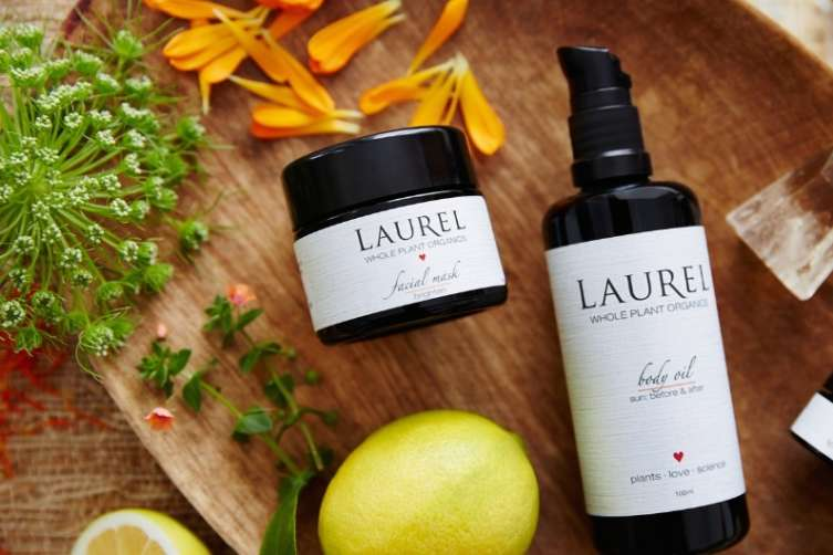 Laurel Whole Plant Organics skincare products