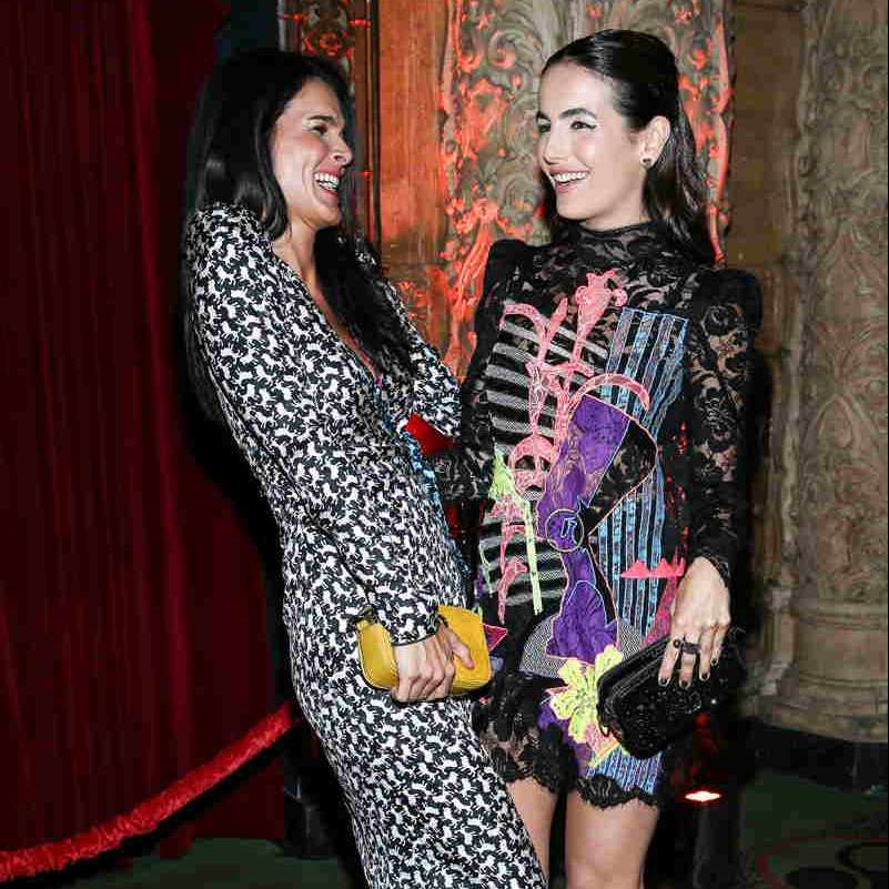 Angie Harmon and Camilla Belle