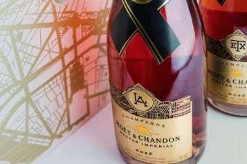 Moet Chandon Limited LA bottle
