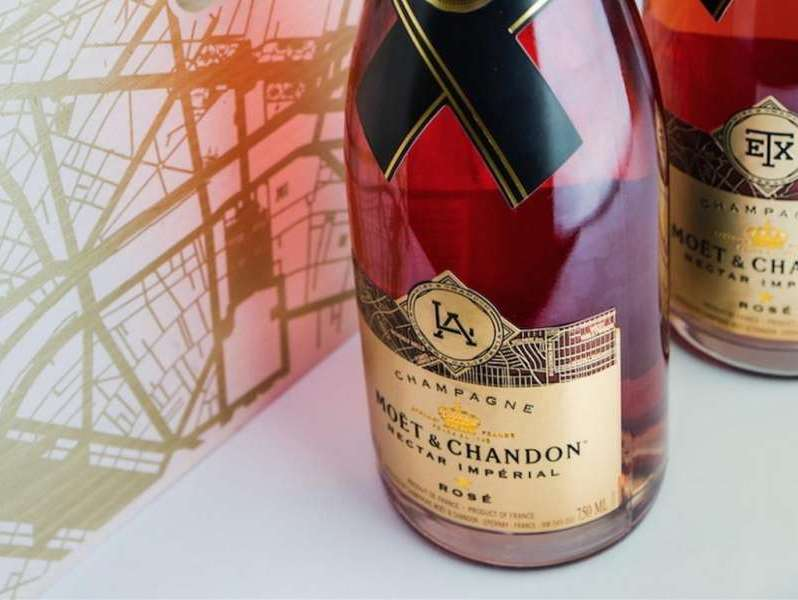 Moet Chandon Limited LA bottle