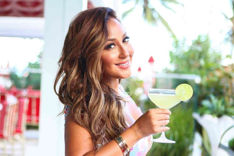 Adrienne Bailon at 6 Shore Road x Jose Cuervo Swim Week Collaboration Event