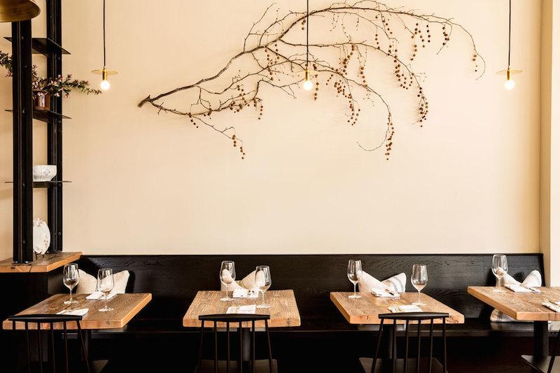 The dining room at Octavia