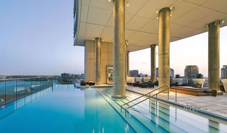 Victory Park's Palatial Penthouse in the W Hotel Residences