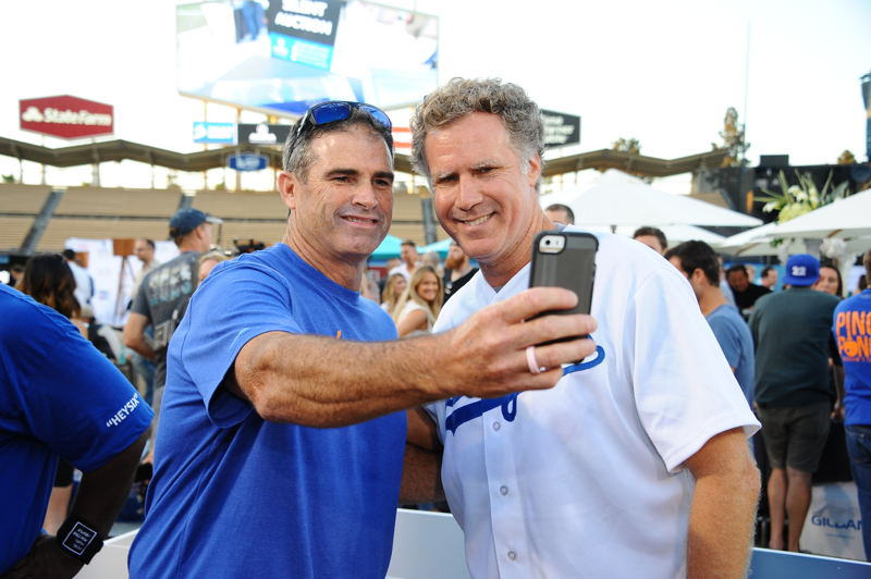 Will Ferrell takes a selfie
