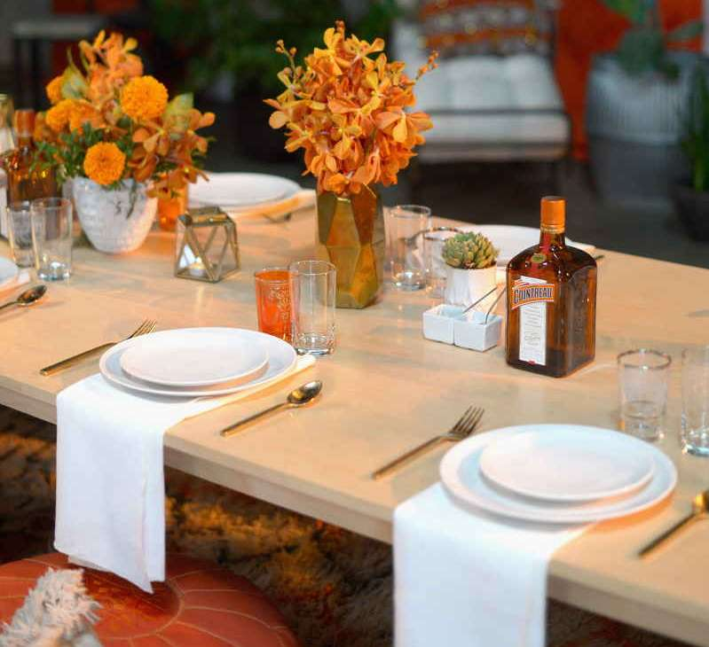 A view of the atmosphere at the Cointreau x Jeremiah Brent Soiree at Big Daddy's Antique Shop on August 6