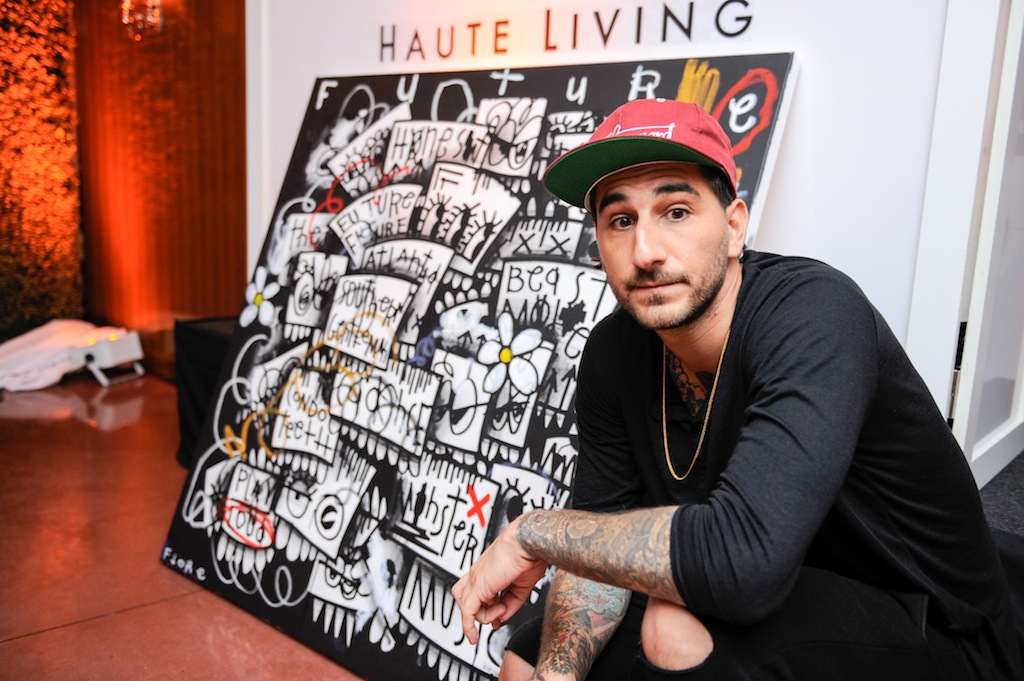 Artist Christopher Florentino aka Flore attends Haute Living cover launch party for Future Hendrix presented by Hublot and Jetsmarter at Cipriani Downtown Miami on August 29, 2016 in Miami, Florida. (Photo by Sergi Alexander/Getty Images)