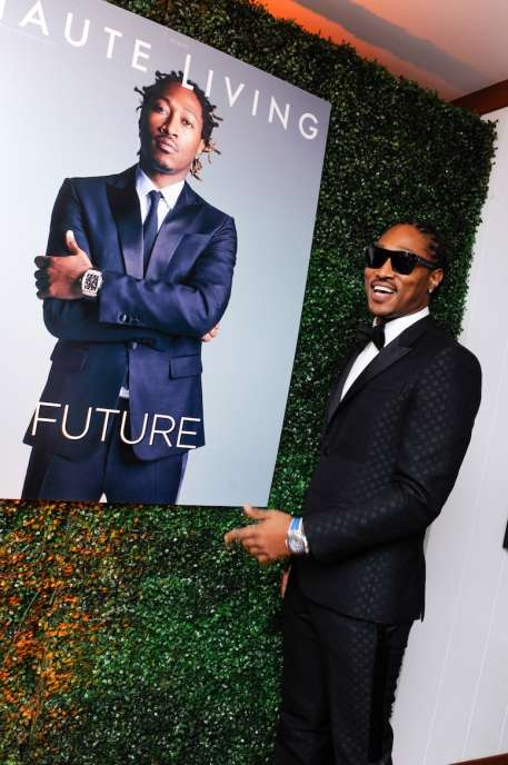 Rapper artist Future Hendrix aka Future attends Haute Living cover launch party for Future Hendrix presented by Hublot and Jetsmarter at Cipriani Downtown Miami on August 29, 2016 in Miami, Florida. (Photo by Sergi Alexander/Getty Images)
