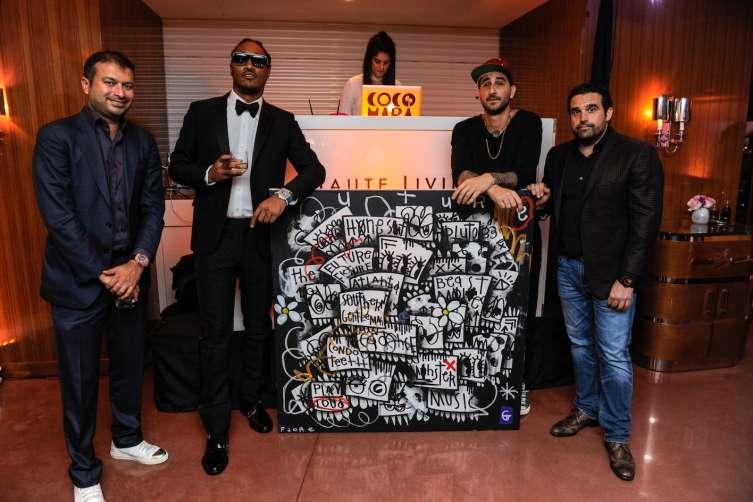 Kamal Hotchandani, Future Hendrix, Flore and Seth Semilof