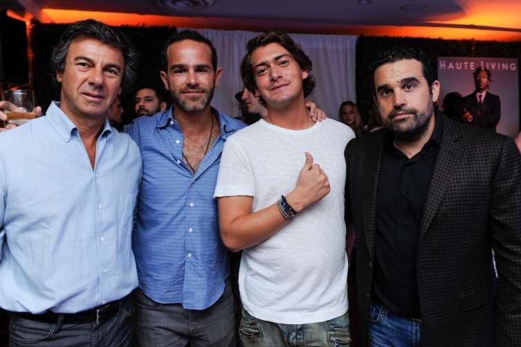 Ugo Colombo, Ronnie Vogel, Tomas Cabrerizo and Seth Semilof
