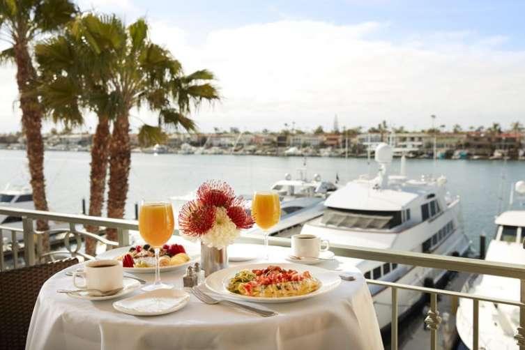 Breakfast on Bay View Balcony II