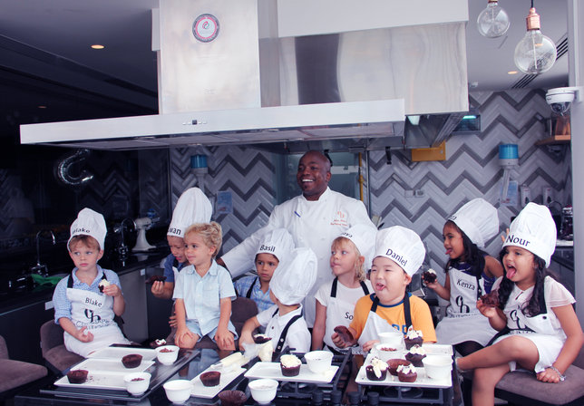 Chef Julius Teaching