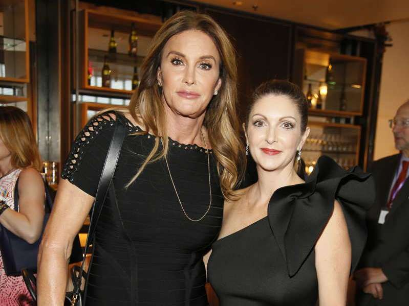 Caitlyn Jenner, left, and Barbara Poma