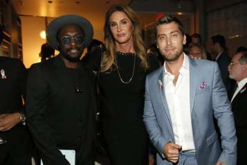 will.i.am, Caitlyn Jenner, Lance Bass