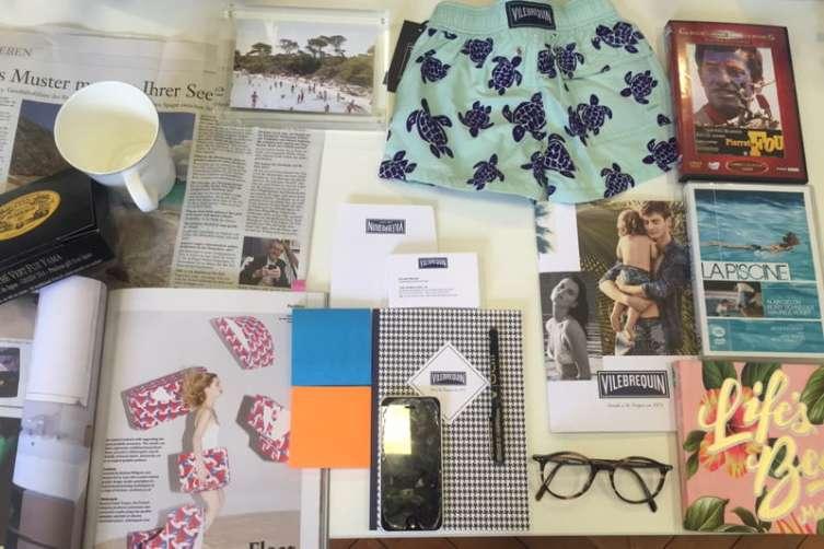 Haute Living - Roland's desk items