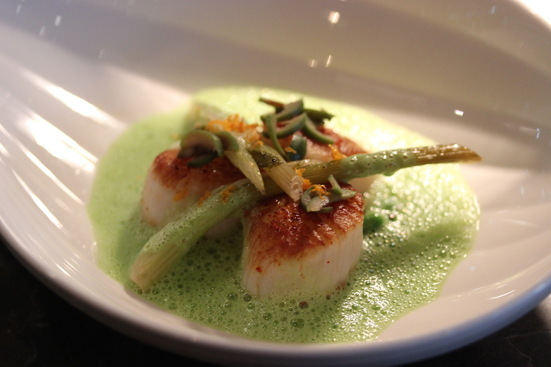 Melt-in-your mouth scallops