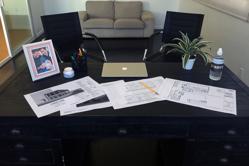 Joey's Desk Photo