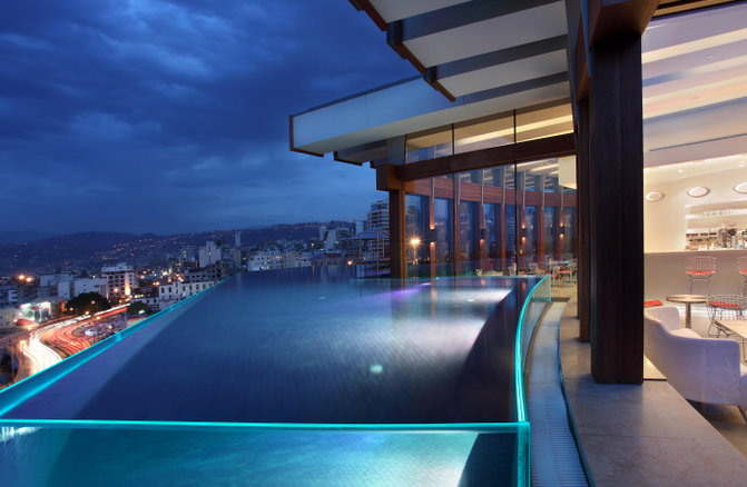 La Grey Beruit Rooftop Pool
