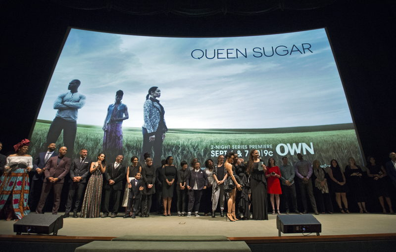 Cast and crew attend OWN: Oprah Winfrey Network's Queen Sugar premiere