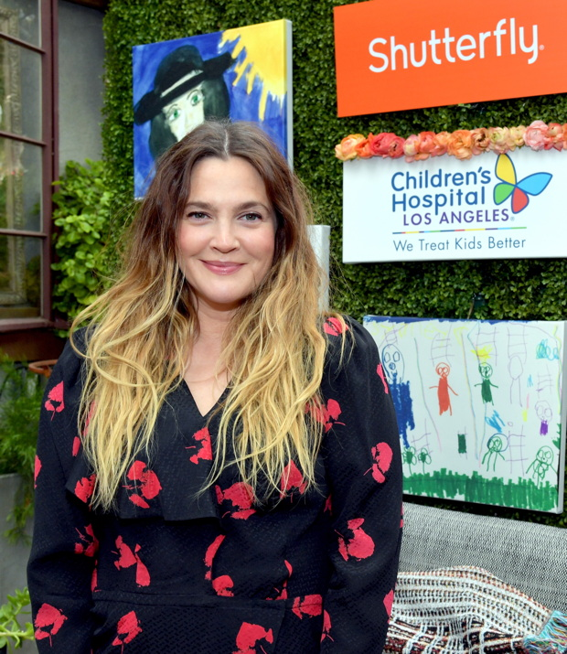 Drew Barrymore hosts Shutterfly (Photo by Lester Cohen/Getty Images for Shutterfly)""
