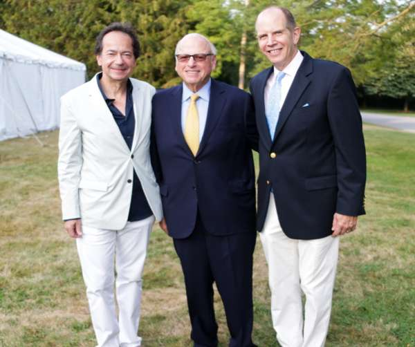 John Paulson, Howard Lorber, and Bob Chaloner