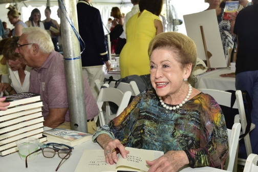 The pen that launched a gazillion best sellers: author Mary Higgins Clark