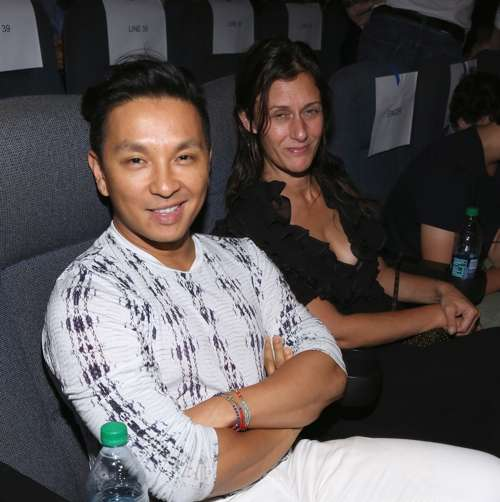 Prabal Gurung and Sally Singer