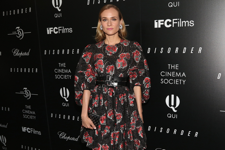 "Diane Kruger at The Cinema Society Chopard, a Screening of IFC Films' ""Disorder""==Landmark Sunshine Cinema, NYC==August 9, 2016==©Patrick McMullan. Photo by Sylvain Gaboury/PMC"