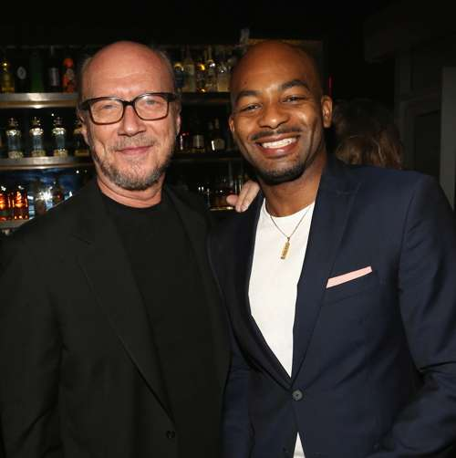 Paul Haggis and Brandon Victor Dixon=